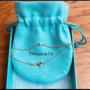 Bracelet in 18k gold with round brilliant diamonds